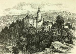 Zamek Czocha wLeśnej (gmina, pow. lubański)