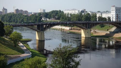 Witebsk – panorama narzekę Dźwinę
