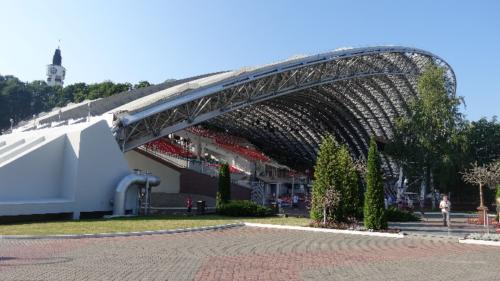 Witebsk – chluba miasta – ogromny nowoczesny amfiteatr