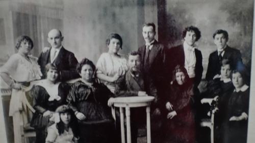 Zdjęcie rodziny Marca Chagalla