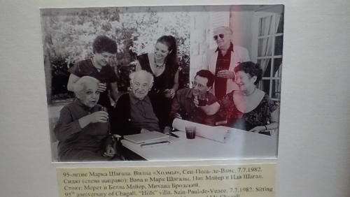 Zdjęcie Chagall zokazji jego 96 rocznicy urodzin