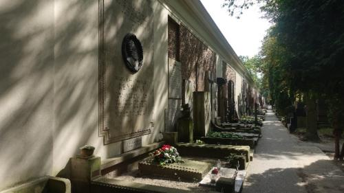 Cmentarz Powązkowski Stare Powązki) – Aleja Zasłużonych