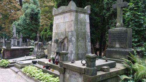 Cmentarz Powązkowski Stare Powązki).- grób Bolesława Prusa