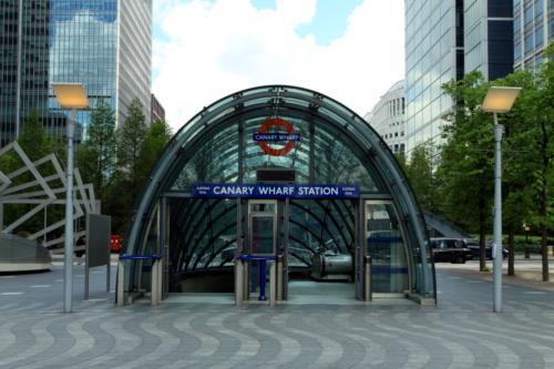 Stacja metra Canary Wharf