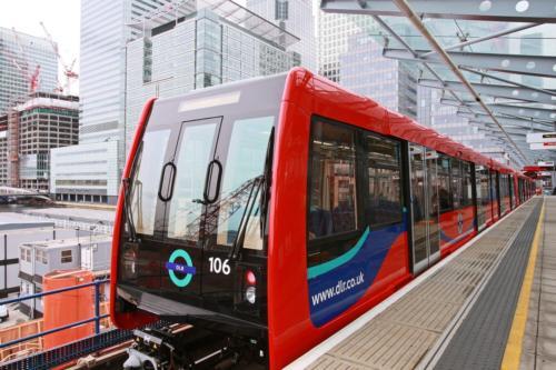 Nowy wagon kolejki Dockland Light Railway