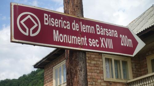 Bârsana – kierunek do cerkwi Ofiarowania Maryi w Świątyni z 1720 r.