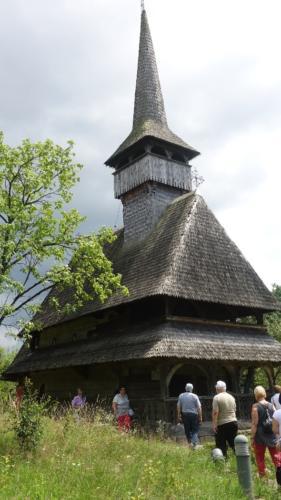 Bârsana – cerkiew Ofiarowania Maryi w Świątyni