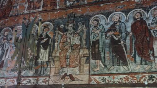 Budeşti – polichromie w cerkwi