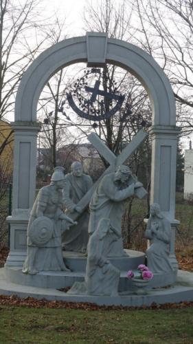 Tajemnica bolesna - 4. Dźwiganie krzyża na Kalwarię.