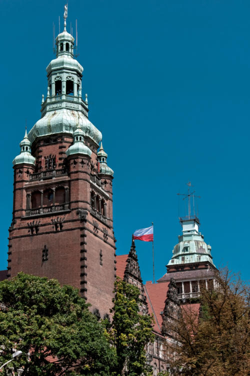 Wieże Urzędu Wojewódzkiego na Wałach Chrobrego