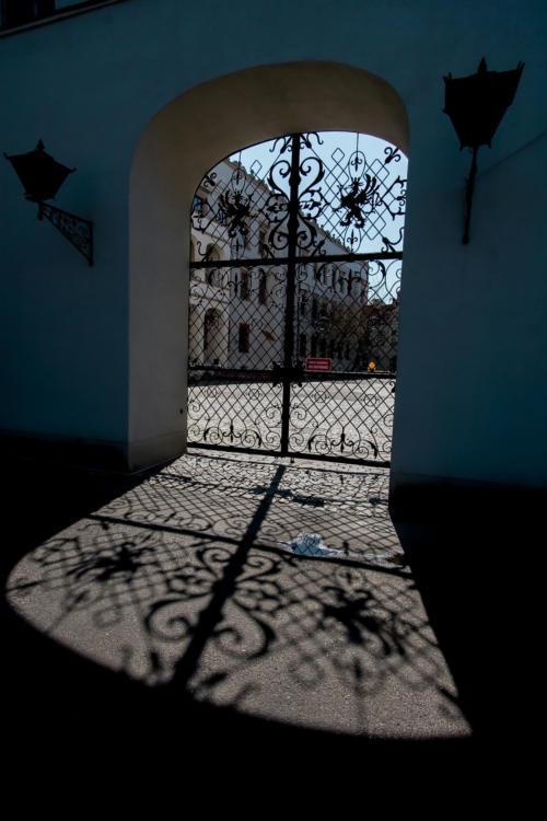 Brama na Mały Dziedziniec Zamku Książąt Pomorskich