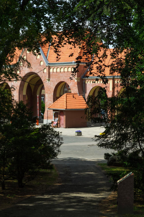 Brama główna Cmentarza Centralnego
