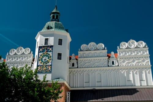 Wieża Zegarowa na Zamku Książąt Pomorskich