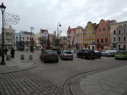 Rynek staromiejski wGrudziądzu. (aut. Marcin Gorączko)