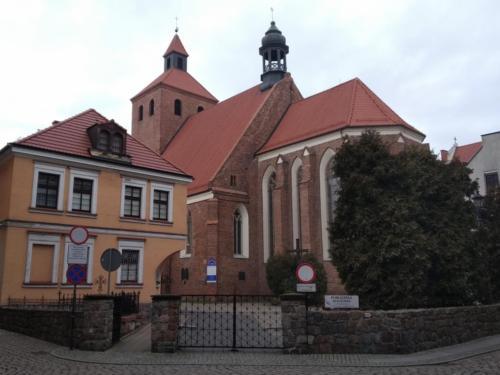 Gotycki kościół św.Mikołaja wGrudziądzu. (aut. Marcin Gorączko)