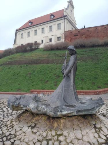 Grudziądz. Pomnik Flisaka. (aut. Marcin Gorączko)