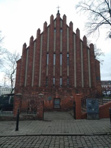 Ewangelicki kościół pw.św.Jana wGrudziądzu. (aut. Marcin Gorączko)