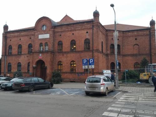 Budynek dawnego Żydowskiego Zakładu Sierot fundacji Lachmanna wGrudziądzu. (aut. Marcin Gorączko)