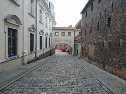 Ulica Zamkowa wGrudziądzu. (aut. Marcin Gorączko)