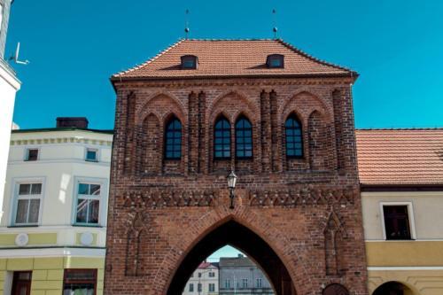 Białogard – średniowieczna Brama Połczyńska