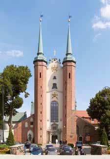 Gdańsk – Oliwa - Bazylika Archikatedralna.