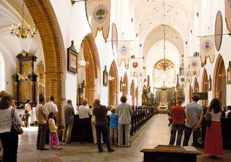 Gdańsk – Oliwa - Bazylika Archikatedralna - wnętrze