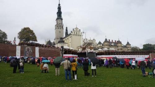 Częstochowa – widok klasztoru naJasnej Górze