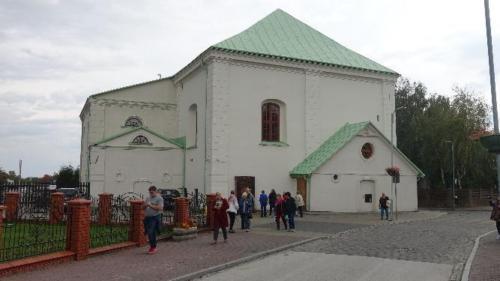 Chmielnik – widok synagogi odulicy