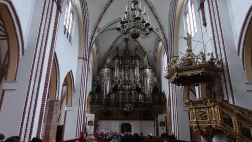 Kamień Pomorski – organy w katedrze