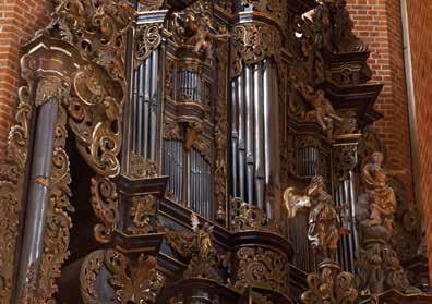 Pelplin - organy boczne barokowe