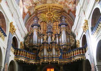 Święta Lipka - organy