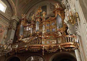 Warszawa – kościół św. Anny - organy