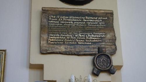 Kosów Poleski –  wnętrze kościoła pw.Świętej Trójcy