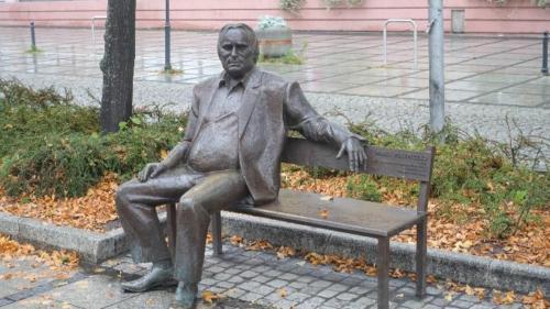 Ławeczka Marka Perepeczki (1942-2005)