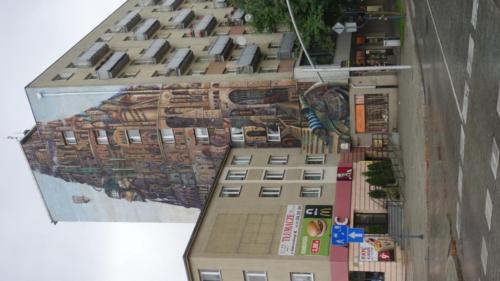 """Mural """"Wieża Babel"""" – Tomasza Sętowskiego"""